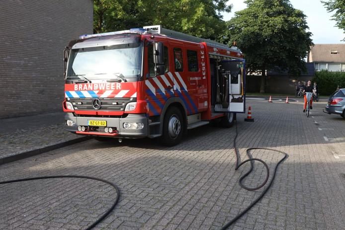 CV-ketel in brand op zolder in Schijndel.
