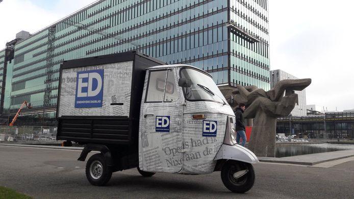 Het ED Verkiezingsautootje rijdt rond in de regio