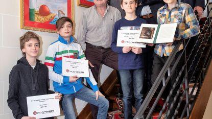 Interwaas bekroont winnaars kunstwedstrijd