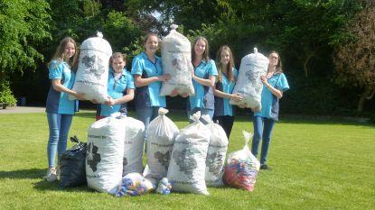 Leerlingen VTI zamelen meer dan honderd kilogram plastic dopjes in voor een goed doel