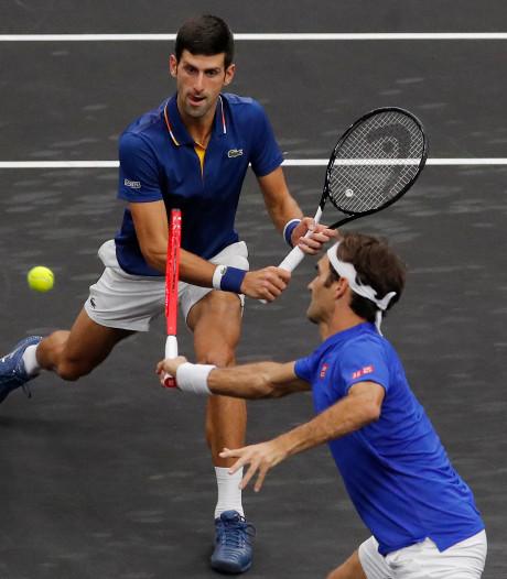 Duo Federer/Djokovic onderuit in Laver Cup