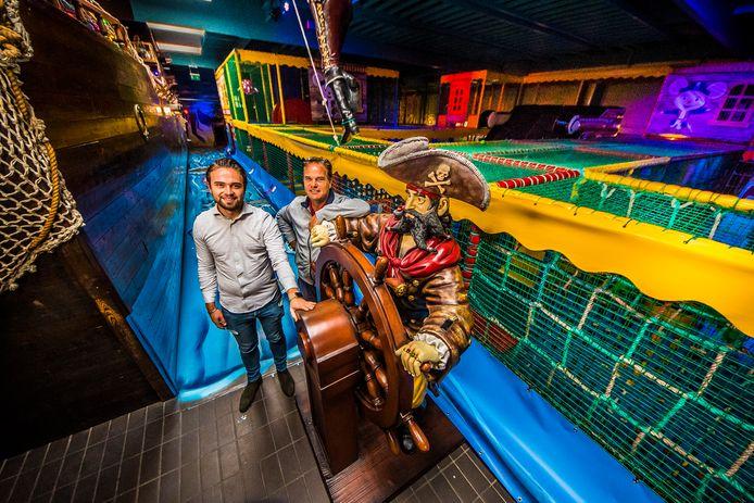 Gijs en Igor Noltes hebben Kids City vernieuwd en hopen dat het publiek weer massaal binnen stapt.