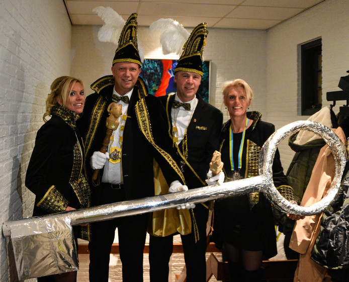 Marco Sjoers van Schaop'nböll'kes is nieuwe sleutelprins Tubbergen
