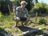 De Moestuin In: glibberen met een slakkenprobleem
