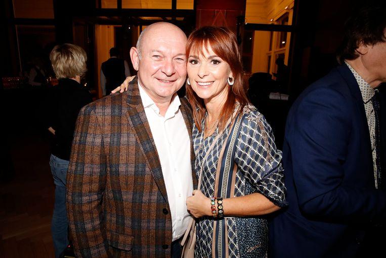 Lisa del Bo en haar man Joske