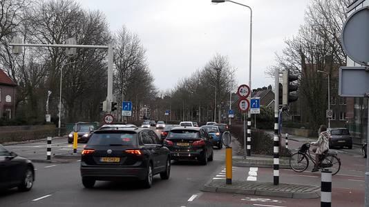 Zuidelijke rondweg ter hoogte van Baronielaan in Breda.