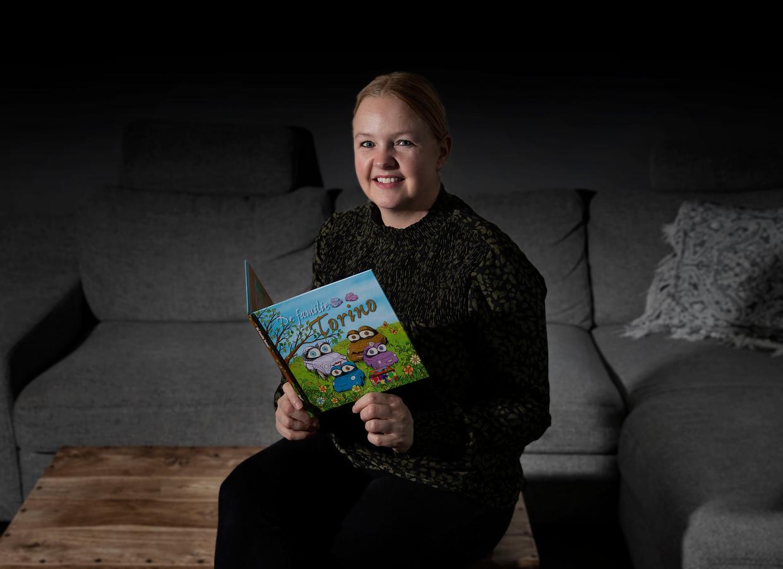 Saskia Megens uit Helmond heeft een prentenboek gemaakt voor jonge kinderen die te maken krijgen met een verlies.