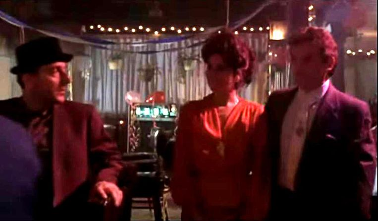 'Butch the Hat' (links) in Goodfellas. Beeld null