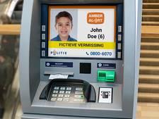 'Wie weg is, is gezien': Amber Alerts voortaan ook te zien op 300 pinautomaten