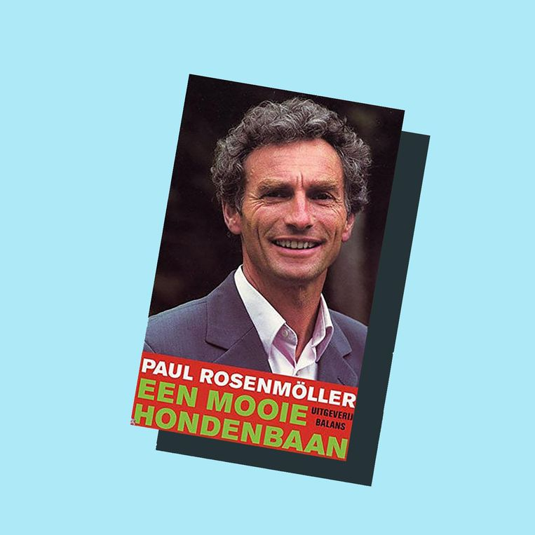 Paul Rosenmöller is de man die GroenLinks op de kaart heeft gezet. Beeld Boekcover Een mooie hondenbaan