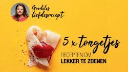 Goedeles liefdesrecept: tongrolletjes