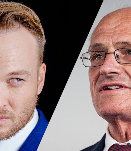 Lubach neemt Gerard Sanderink en zijn liefje Rian van Rijbroek op de hak