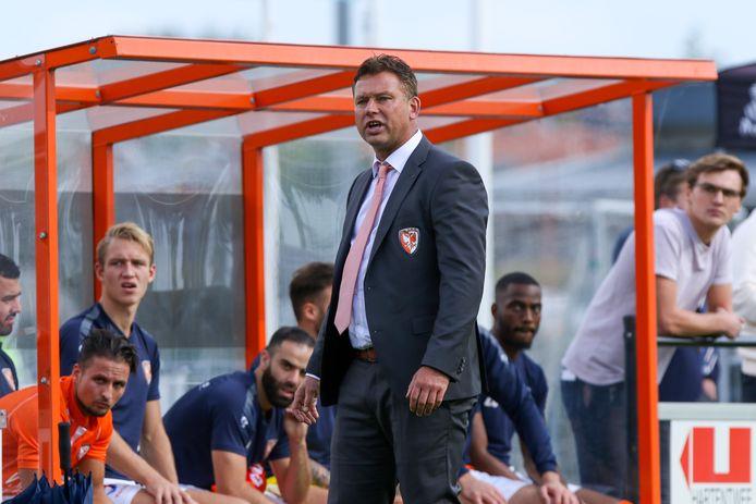 TEC-trainer Hans van de Haar baalt van de manier waarop het seizoen in de tweede divisie wordt afgemaakt.