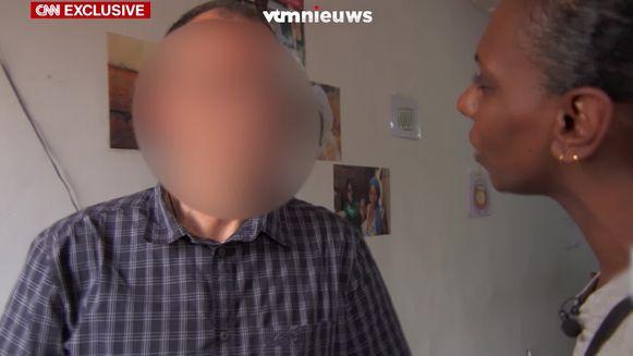 CNN confronteert pater Luk D. met de nieuwe beschuldigingen van pedofilie.