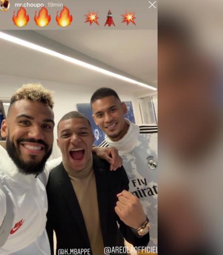 Le selfie d'Areola avec Mbappé et Choupo-Moting ne passe pas pour les supporters du Real
