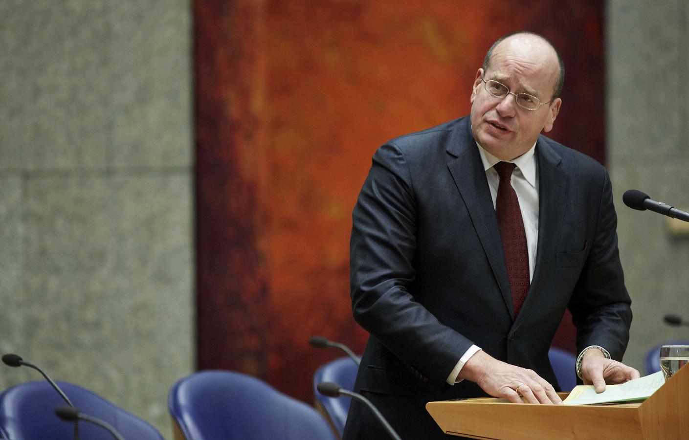 Staatssecretaris Fred Teeven.