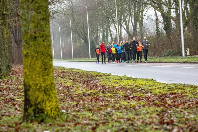 Hardloopcursus in Oldenzaal.