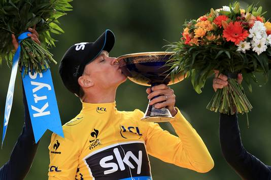 Chris Froome in 2015.