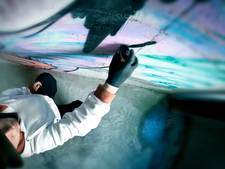 Politie nog steeds op zoek naar creatieve, brave graffitispuiter