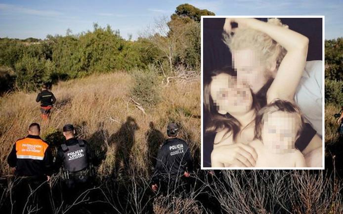 Ruim 100 Spaanse agenten zochten sinds afgelopen donderdag naar de lichamen van de twee jonge kinderen.