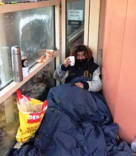 Buitenslapers in bittere kou in Apeldoorn krijgen hulp