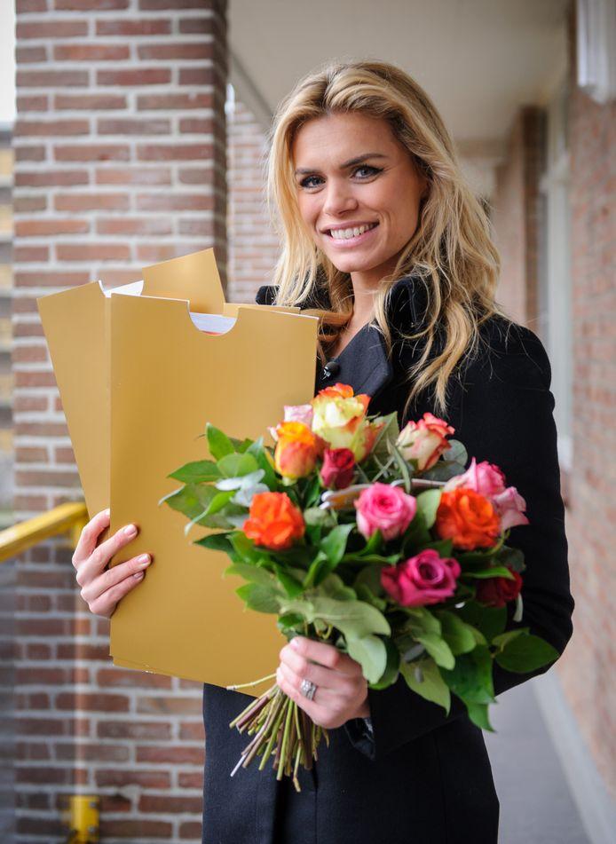 Stockbeeld Postcode Loterij-ambassadeur Nicolette van Dam