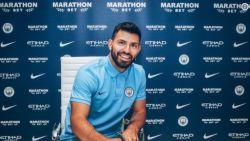 """FT buitenland. Agüero verlengt zijn contract bij Manchester City: """"Wil hier tien jaar blijven"""" - Ex-speler Lokeren scoort pareltje in Zuid-Afrika"""