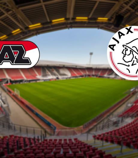 LIVE | AZ keert terug in Alkmaar voor kraker tegen Ajax