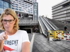 Vervang roltrappen op Jaarbeursplein voor een stenen trap: dat is pas duurzaam