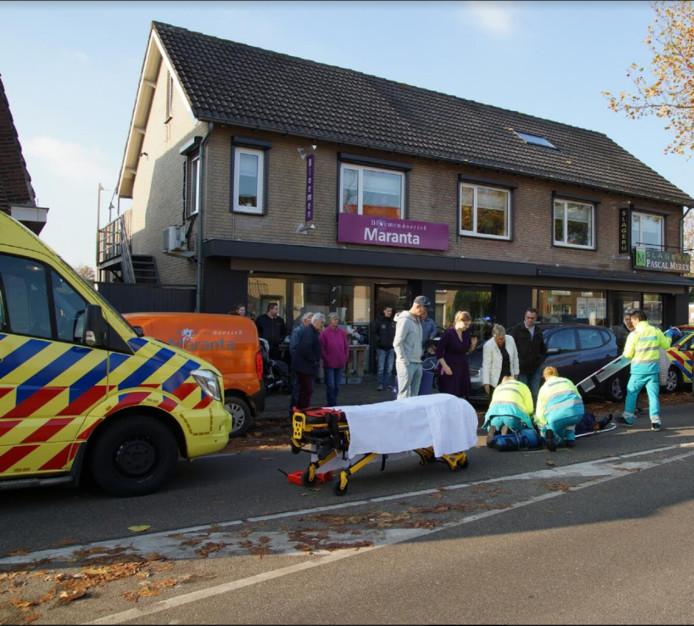 Ongeluk Marktstraat Kaatsheuvel