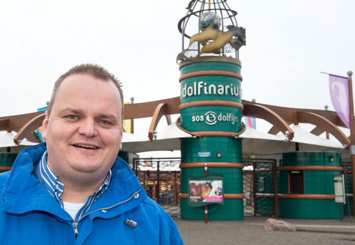 Marten Foppen, voormalig directeur van het Dolfinarium.