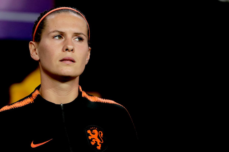 Merel van Dongen, international van Oranje.