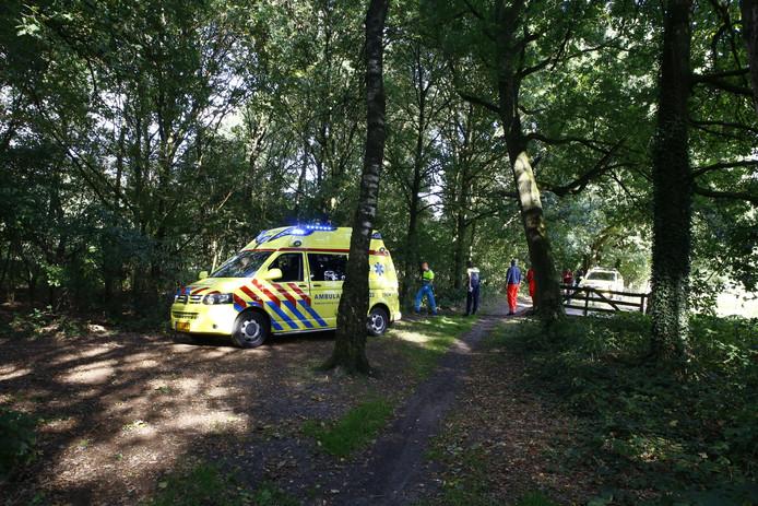 Man overlijdt door ongeval met crossmotor in Ottersum.