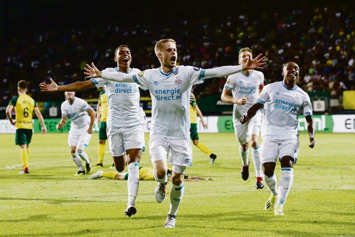 Dante Rigo besliste eerder dit seizoen het duel in Sittard tussen PSV en Fortuna, waar PSV nipt won.