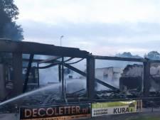Kantine van SV Meerssen volledig uitgebrand; verslagenheid bij bestuur en in dorp is groot<br>