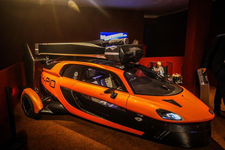 Bonhams veiling Zoute Grand Prix: vliegende auto.