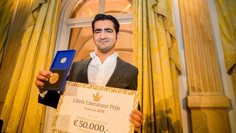 Isik won recent de Libris Literatuur Prijs 2018. Beeld anp