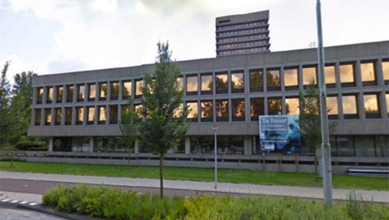 Het pand waar de Hotelschool Den Haag zich gaat vestigen. Het pand wordt nu gerenoveerd. Beeld