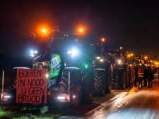 Honderden tractors vertrekken vanaf truckerscafé in Boxtel richting Den Haag: 'Hopen dat ze een keer zwichten'