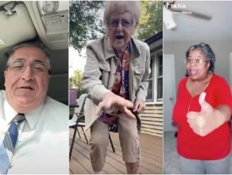 Een dansende oma en een expert in 'dadjokes': deze 'boomers' en 'grannies' veroveren TikTok