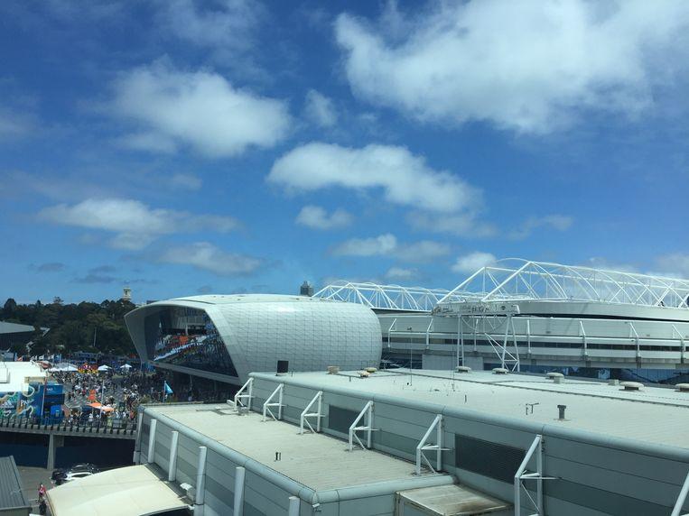 De nieuwe 'Players Pod' in Melbourne.