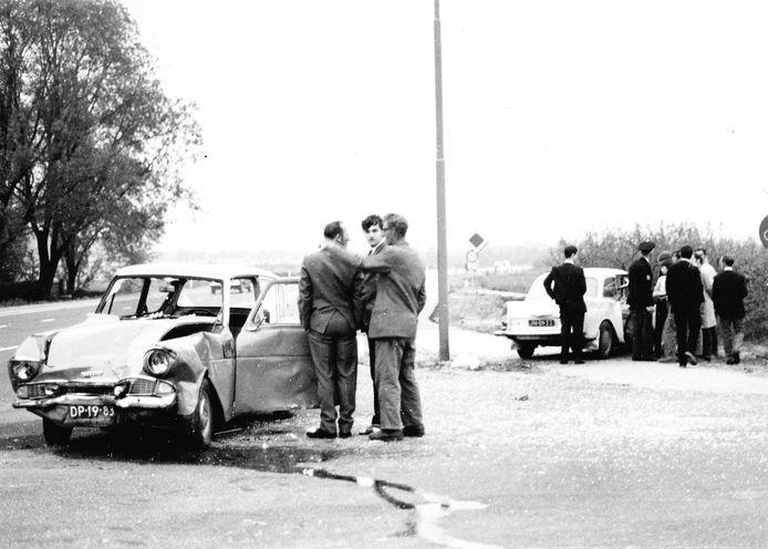 Ongeval in september 1971 bij Druten.