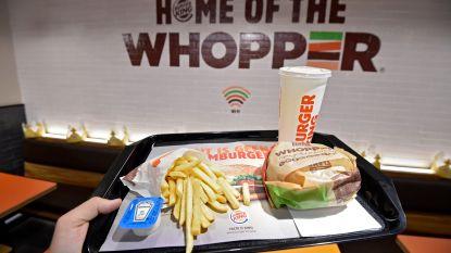 Een Whopper aan huis? Deliveroo levert nu ook Burger King in Antwerpen