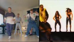 Wesley Sonck kan niet enkel voetballen maar ook dansen!