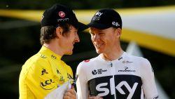 Team Sky stopt eind volgend seizoen met sponsoring van wielerploeg