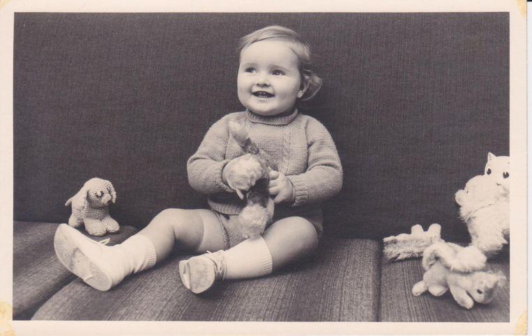 Ruud Koornstra 1 jaar. Beeld