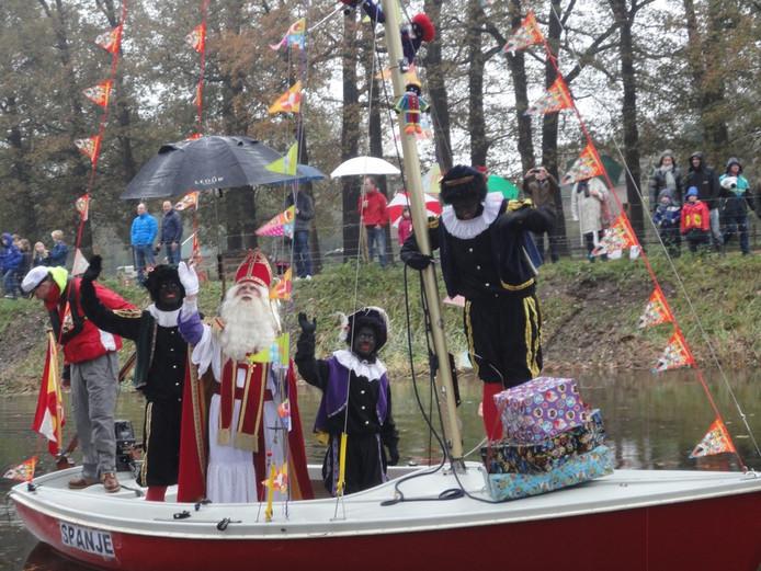 Sinterklaas op de Schipbeek
