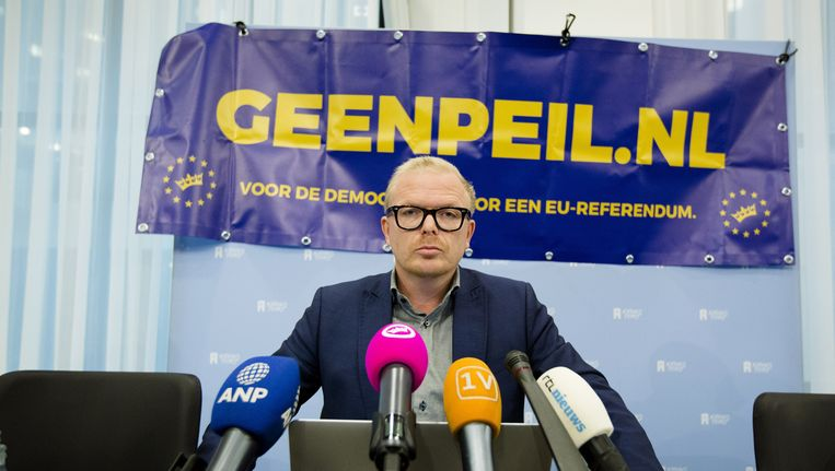 Geen Peil-voorman Jan Roos. Beeld anp
