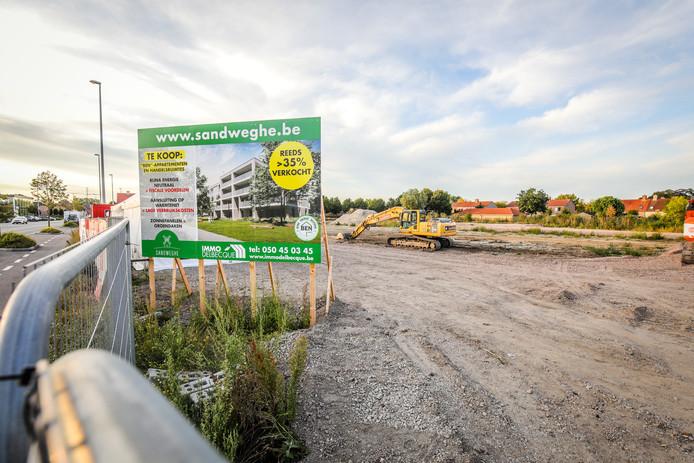 Brugge sandweghe bouwproject