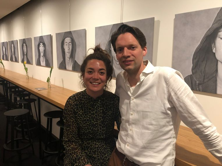 Fleur Lew (36) en Kees Rutten (36) Beeld